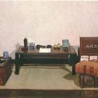 芥川の書斎再現
