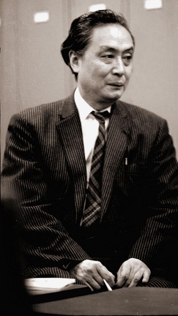 日本近代文学館創立記念文芸講演会の時(昭和38年4月)