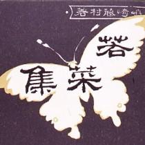 藤村 若菜集 復刻版 表紙