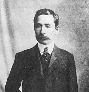 朝日入社の年(明治40年)の夏目漱石