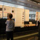パリ日本文化会館での川端康成展